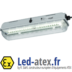 Eclairage à LED antidéflagrant