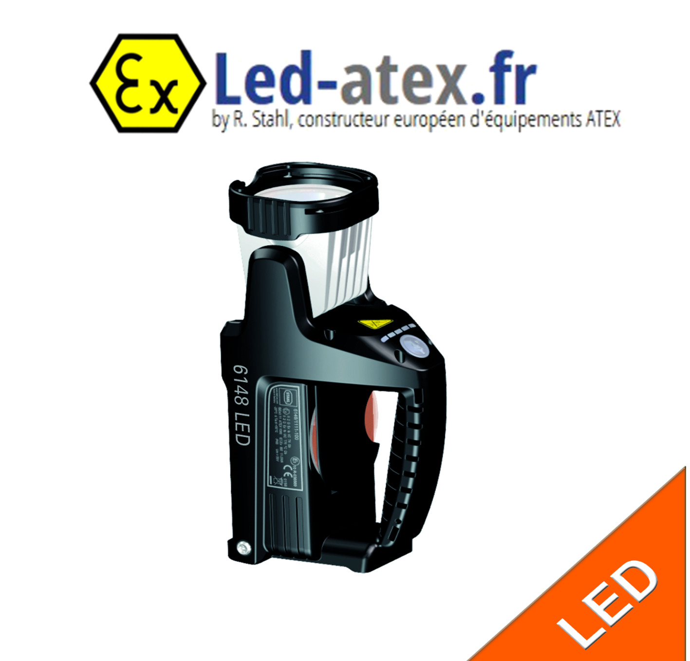 Projecteur portable atex